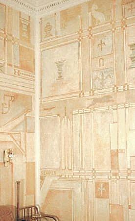Freskenmaler geometrische 39 muster - Geometrische wandbilder ...